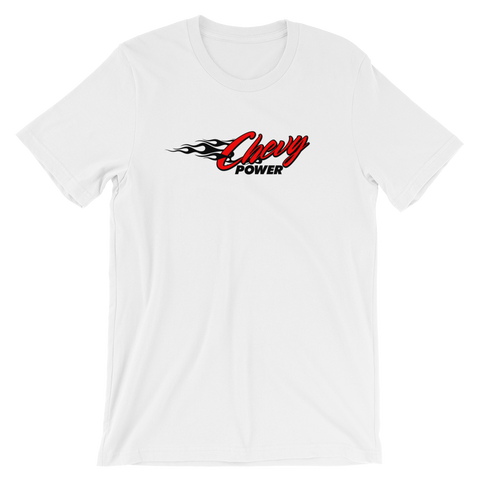 Chevy Power Short-Sleeve Unisex T-Shirt