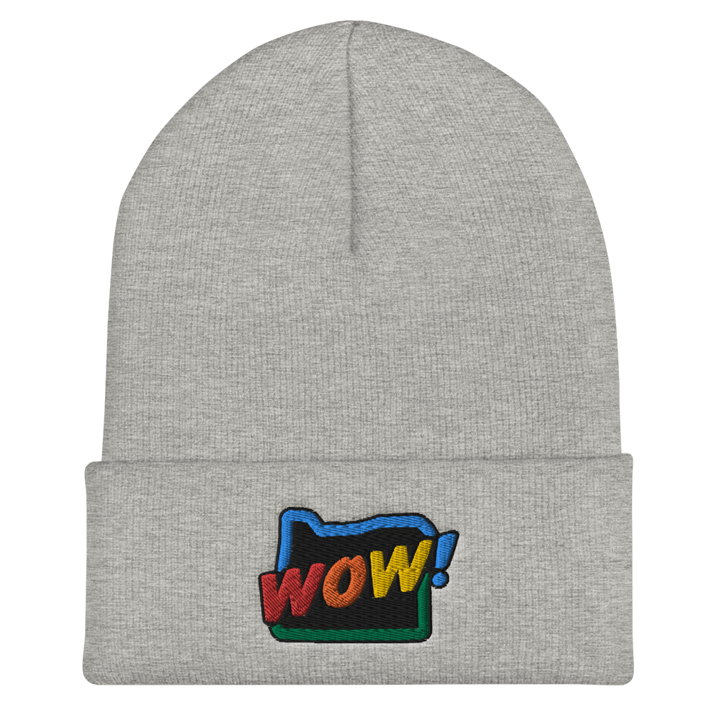 OREGON WOW RAINBOW beanie