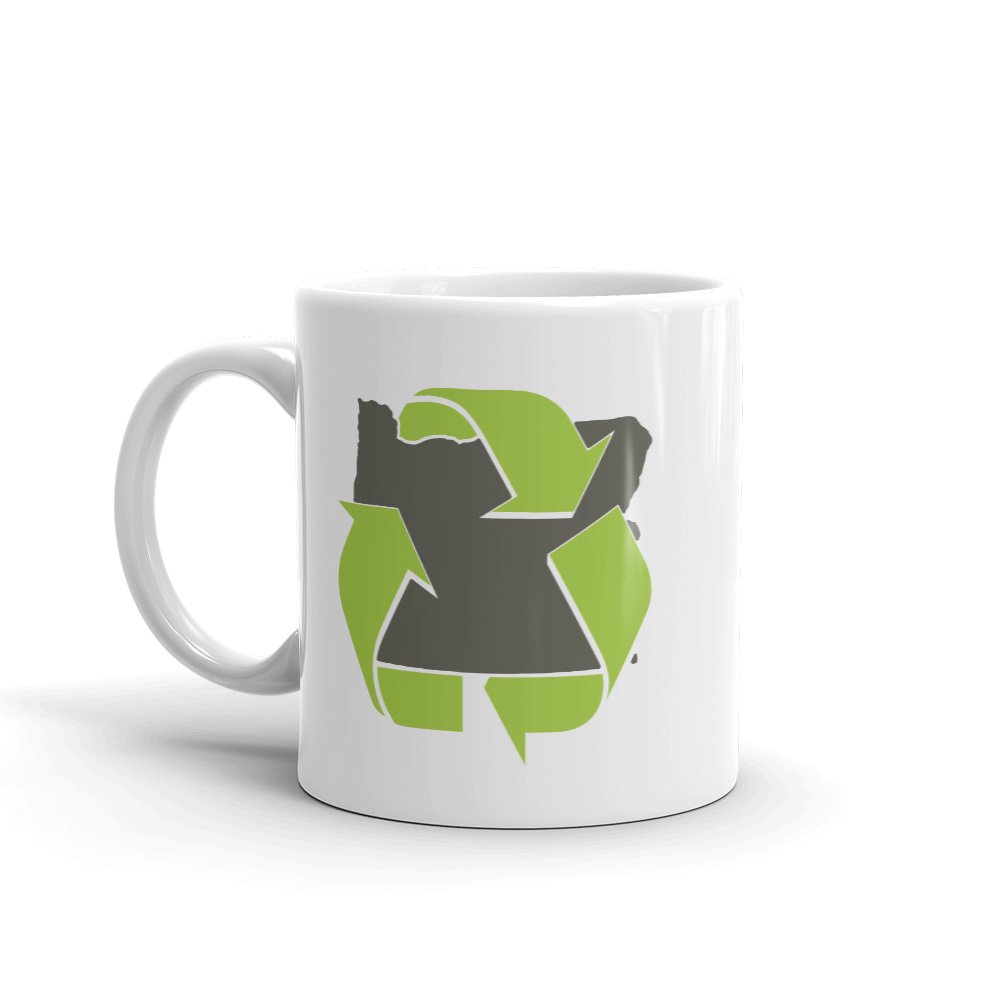 Oregon Recycle Mug - TaterSkinz