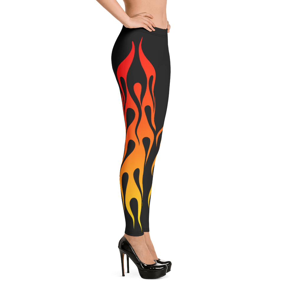 Lift Off Flaming Leggings