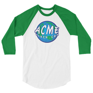 ACME MERCH .COM Baseball raglan shirt - TaterSkinz