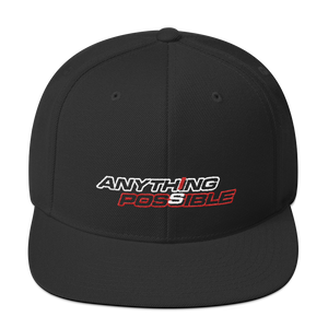 Anything Is Possible snapback cap - TaterSkinz