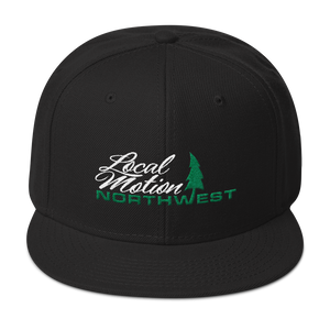 LOCAL MOTION NORTHWEST SNAPBACK - TaterSkinz