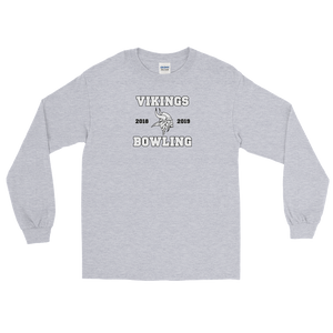 Vikings Bowling Long Sleeve T-Shirt - TaterSkinz