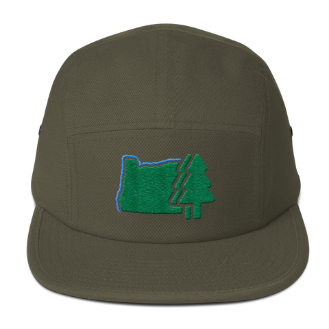 OREGONLAND Five Panel Cap