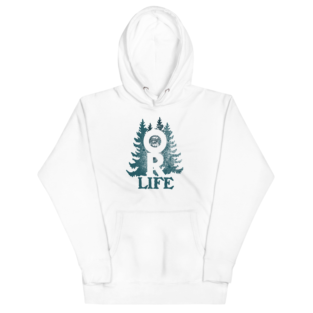 Oregon Life Unisex Hoodie by Oregon Wear - TaterSkinz
