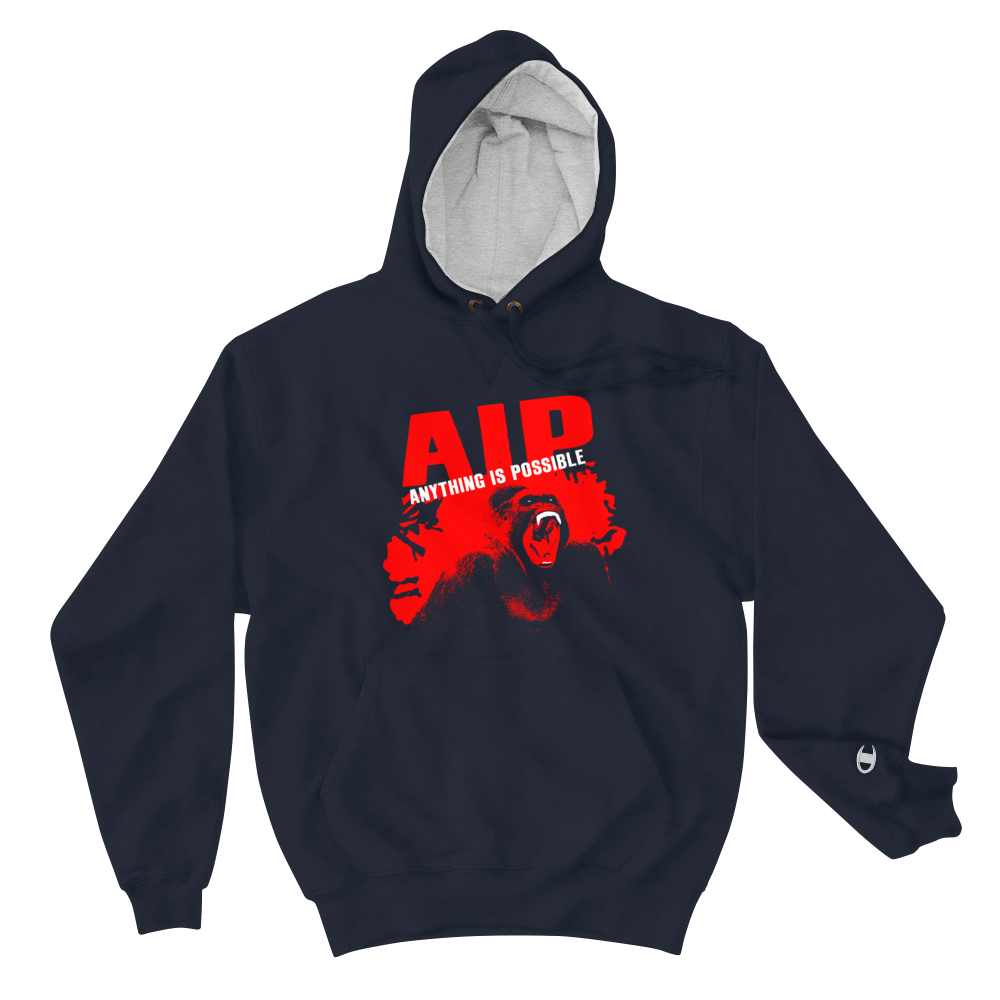 AIP WEAR ANYTHING IS POSSIBLE CHAMPION HOODIE - TaterSkinz