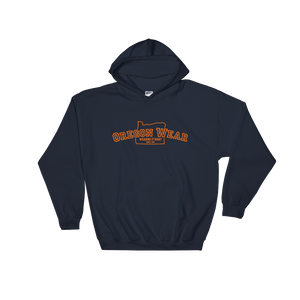 "Oregon Wear ""Wearing it Right"" Hoodie Sweatshirt - TaterSkinz"