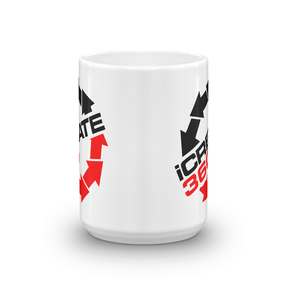 iCreate360 I Create 360 beverage coffee mug - TaterSkinz