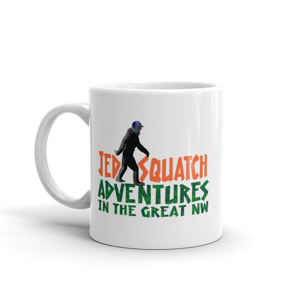 JedSquatch Adventures in the Great Northwest Mug