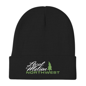 LOCAL MOTION NORTHWEST BEANIE IGUANA GREEN - TaterSkinz