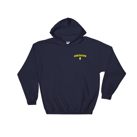 Oregon Tree Hooded Sweatshirt - TaterSkinz