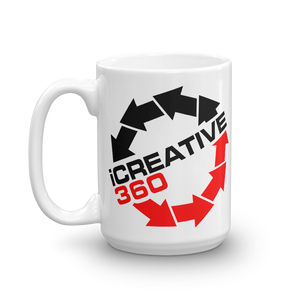 iCreative360 I Creative 360 beverage coffee Mug - TaterSkinz
