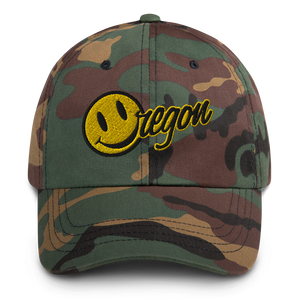 Happy Oregon Face cap - TaterSkinz