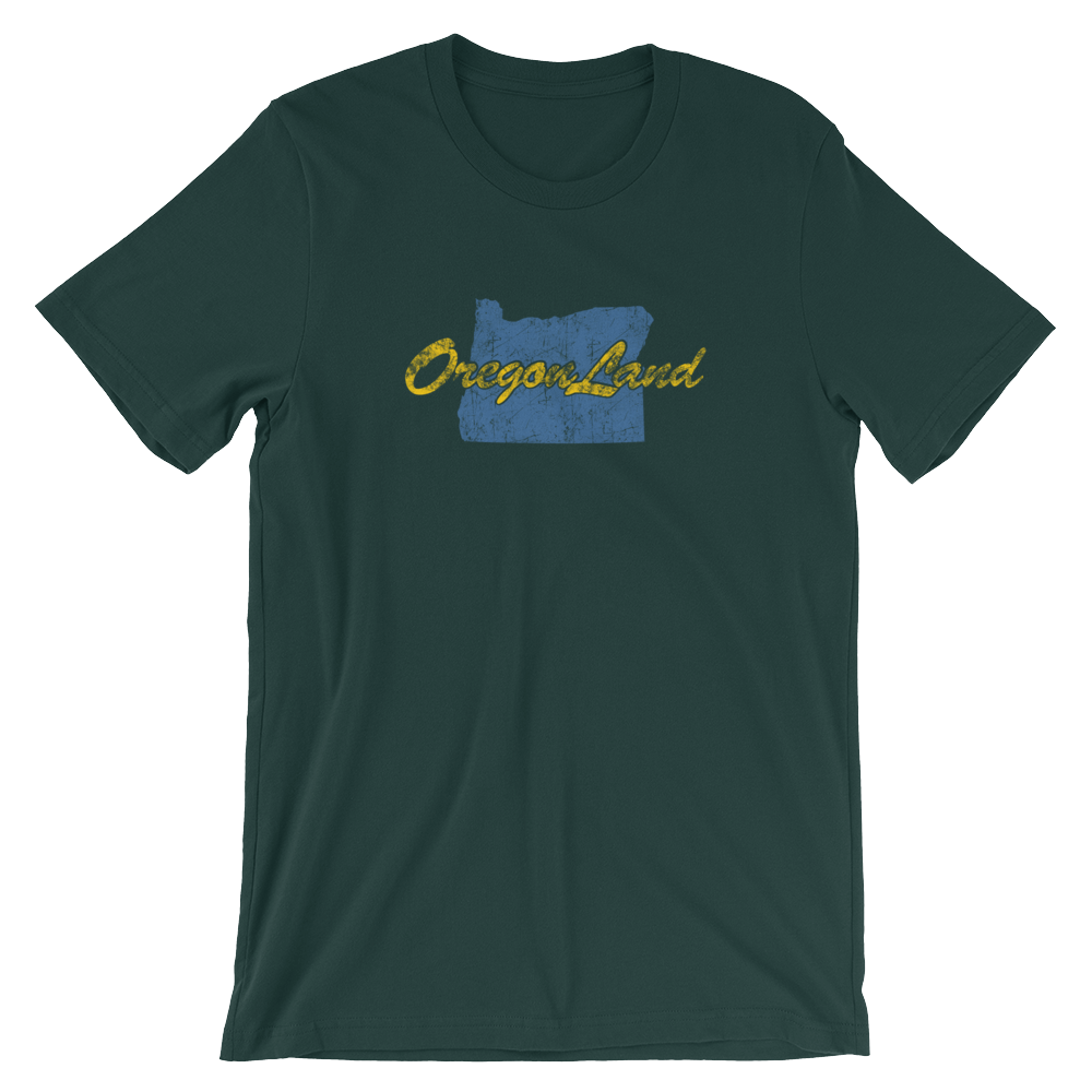 OREGONLAND VINTAGE Short-Sleeve Unisex T-Shirt Oregon Merch - TaterSkinz