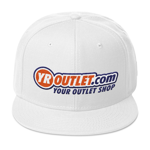 YR OUTLET .COM Snapback Hat YOUR OUTLET SHOP SHOPS STORE