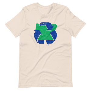 Keep It Green Oregon and Recycle T-Shirt - TaterSkinz