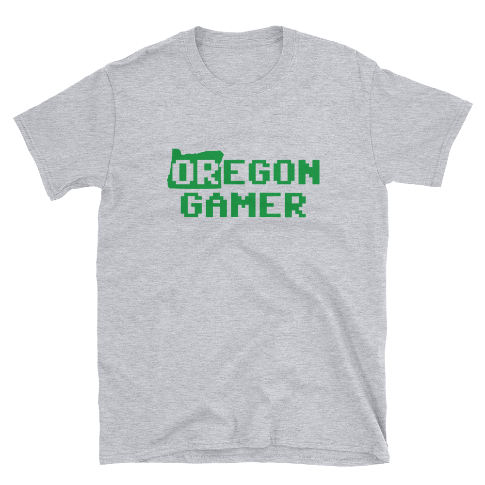 Oregon Gamer gaming T-Shirt - TaterSkinz