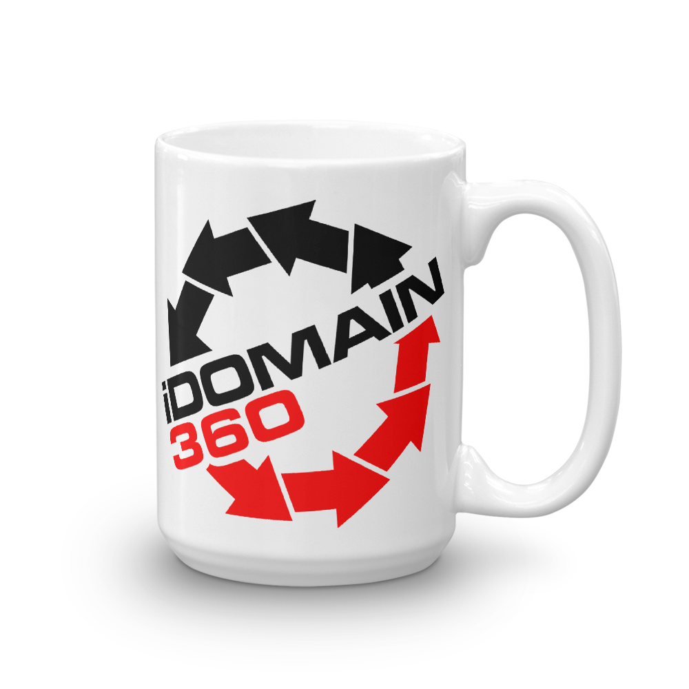 iDomain360 I Domain 360 beverage coffee Mug - TaterSkinz