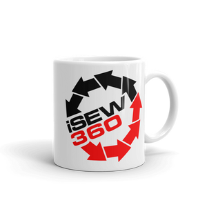 iSew360 I Sew 360 beverage coffee Mug - TaterSkinz