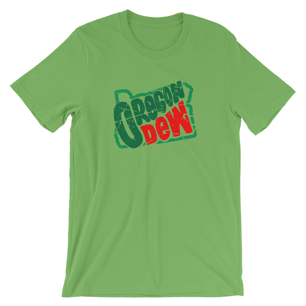 OREGON DEW Oregon Graphic T-Shirt - TaterSkinz