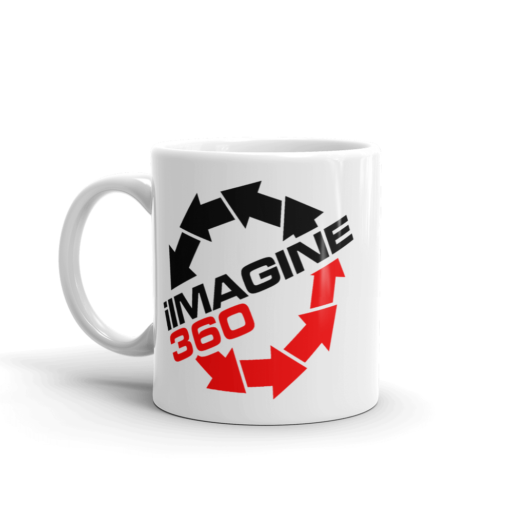 iImagine360 I Imagine 360 beverage coffee mug - TaterSkinz