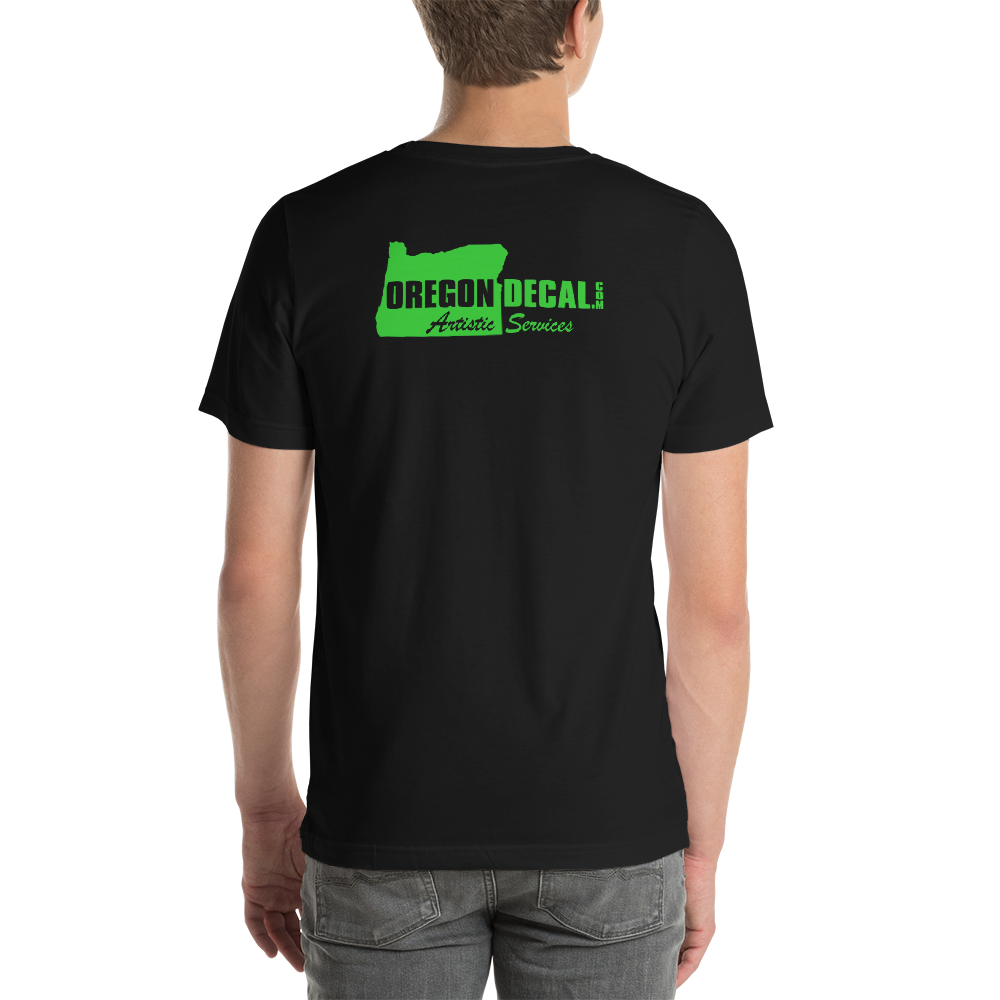 Oregon Decal .com #001 Oregon tee shirt merch - TaterSkinz