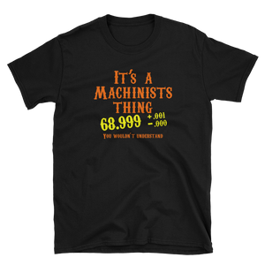 It's a Machinist thing!