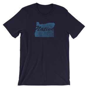 Oregon Native Oregon Home T-Shirt - TaterSkinz
