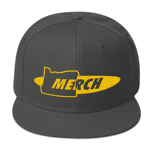 OR MERCH .COM Snapback hat cap ~ CUSTOM OREGON ONLY MERCH MERCHANDISE - TaterSkinz