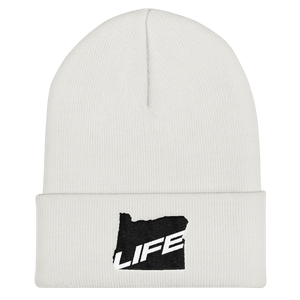 Oregon Life Cuffed Beanie Oregon Merch Headwear - TaterSkinz