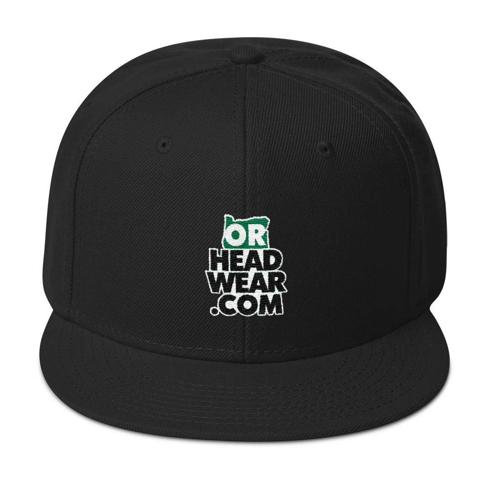 OREGON HEADWEAR .COM Snapback Hat Oregon Merch Headwear - TaterSkinz
