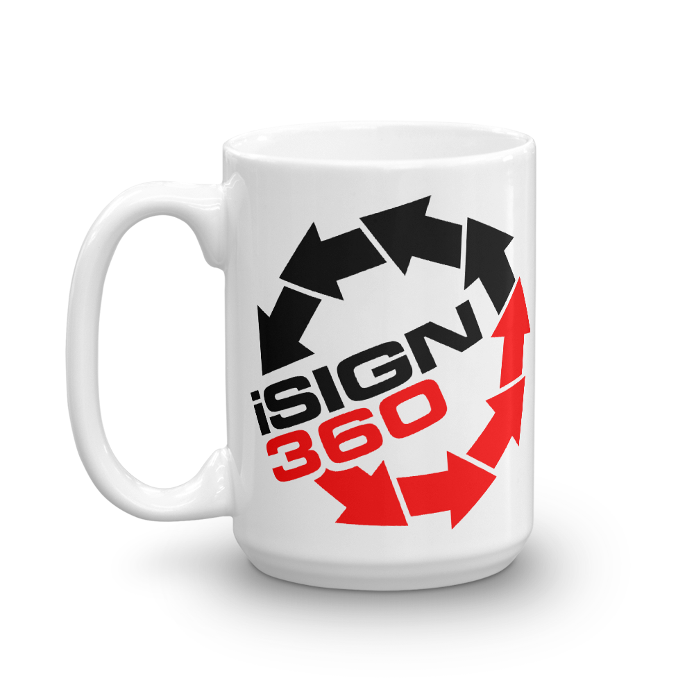 iSign360 I Sign 360 beverage coffee Mug - TaterSkinz