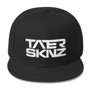 TaterSkinz Text Wool Blend Snapback - TaterSkinz