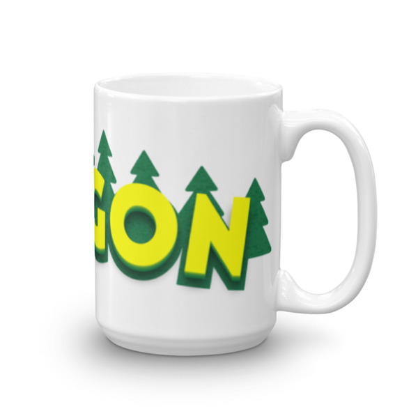 Oregon Mug Oregon Merch Mugs