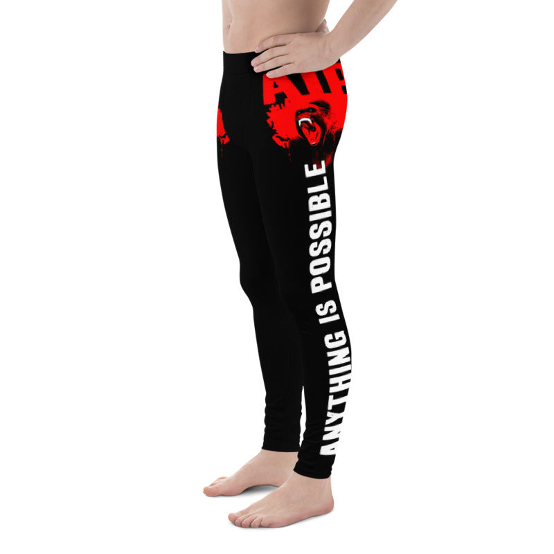 AIP WEAR ANYTHING IS POSSIBLE MEN'S WORKOUT LEGGINGS - TaterSkinz