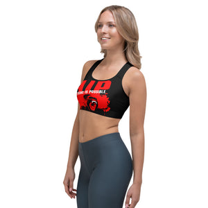 AIP WEAR ANYTHING IS POSSIBLE SPORTS BRA - TaterSkinz