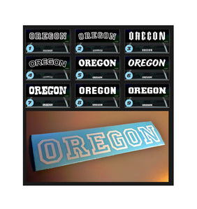 OREGON STATE DECAL by Oregon Decal - TaterSkinz