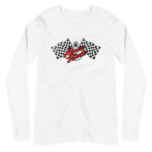 Race Time! Unisex Long Sleeve Tee by Race Time Tee's