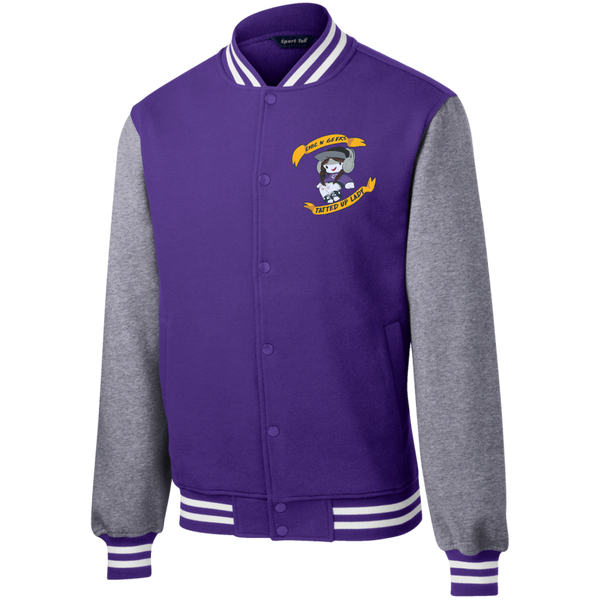 "Sweatshirts - ""TattedUpLADY"" Fleece Letterman (Men)"
