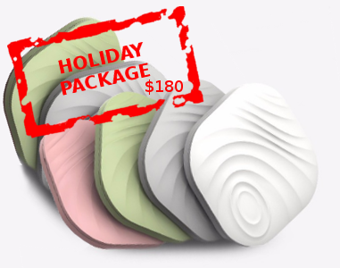 NUT 3 - Holiday Package (6 Nuts) only $180 - Timely Guardian - 1