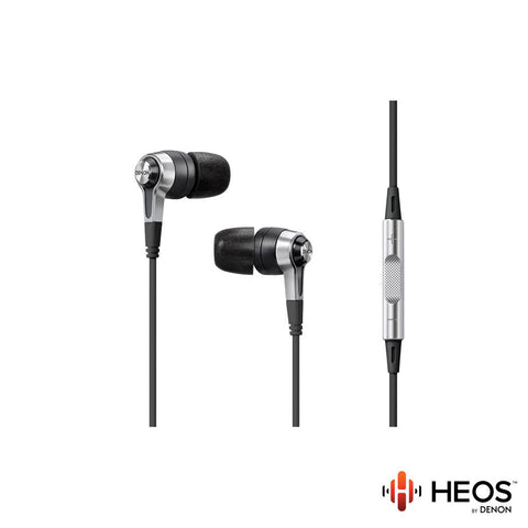 Denon HEOS AH-C620R In-Ear Headphones with Remote + Microphone