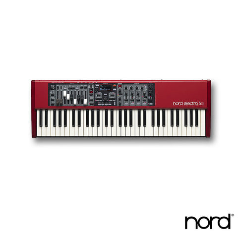 Nord Electro 5D 61 Velocity Sensitive 61-Key Semi-Weighted Waterfall Keyboard