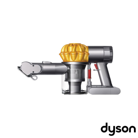 Dyson - V6 Top Dog Bagless Cordless Hand Vac - Yellow, Iron