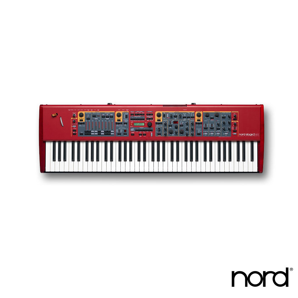 Nord Stage 2 EX HP76 76-Key Hammer Action Portable Keybed With LED Drawbars, E-G Key Range (NSTAGE2-EX-HP76)