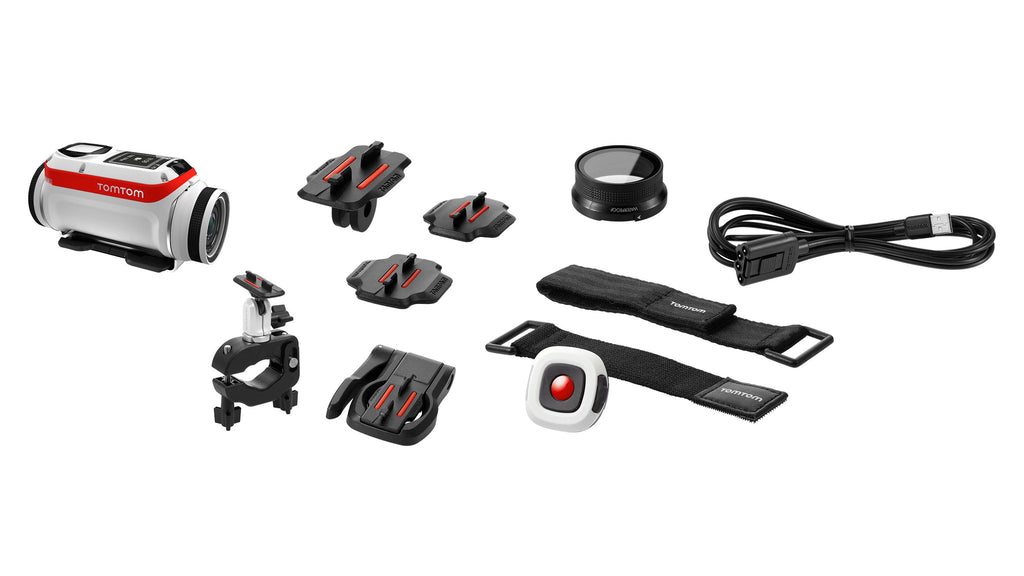 TomTom - Bandit Action Camera - Premium Pack - E ZEE ELECTRONICS
