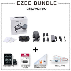 DJI Mavic Pro Fly More Combo More Value - Starter Bundle EZEE