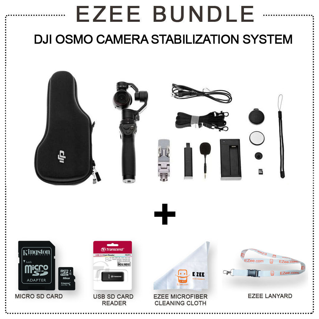 DJI Osmo - Camera stabilization System EZEE Bundle