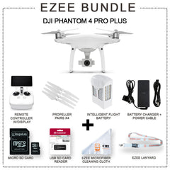 DJI Phantom 4 Pro Plus w/built in screen EZEE Bundle