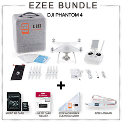 DJI Phantom 4 Drone EZEE Bundle